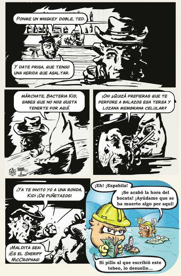 Tira 31: Sheriffs y sepultureros