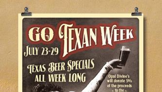 Go Texas Beer