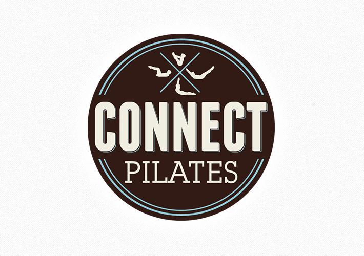 Austin Logo Design Connect Pilates Alyson Design