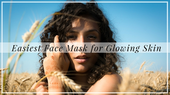 Easiest face mask for glowing skin, Alyssa Coleman, wellness, productivity, creative entrepreneur