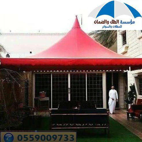 مظلات حدائق خشبية الرياض