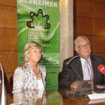 Diagnóstico Personalizado: Cada Diagnóstico, una Persona…(CEAFA). Arsenio Hueros presidente de CEAFA y Maribel González, gerente del CRE Alzheimer.