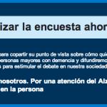 Encuesta Sanitas Por una atención del Alzhéimer centrada en la persona