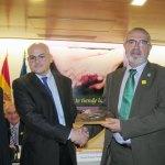 Participantes en el acto sobre cuidadores de enfermos de Alzheimer en el Imserso Autor: Juan Luis Jaén