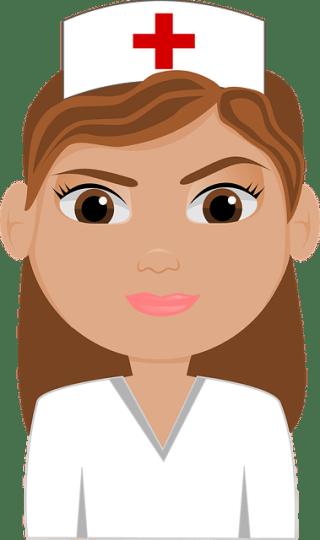 Competencias de la enfermera en residencias ancianos - enfermera logo dibujo
