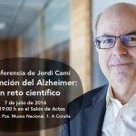 Jordi Cami hablará de Prevención del Alzheimer (Próximo jueves)