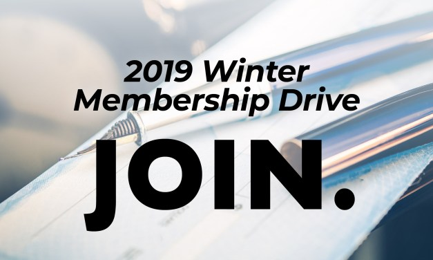 2019 Winter Membership Drive