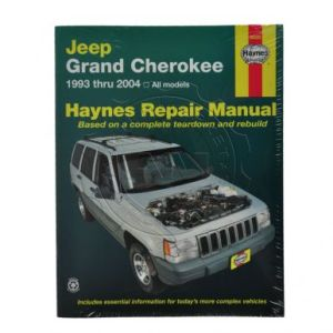 Jeep Grand Cherokee Haynes Repair Manual  AM Autoparts