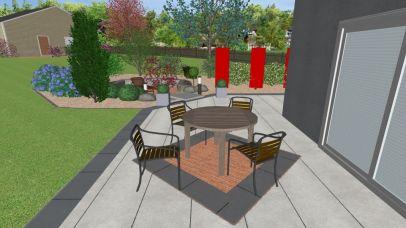 Projet paysagiste en 3D sur Epinal