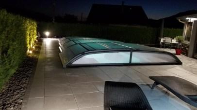 Eclairage de piscine et terrasse