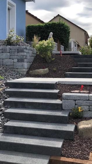 Escalier sur plusieurs niveaux