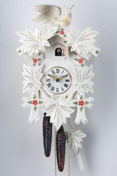 Witte Koekoeksklok met Bloemen