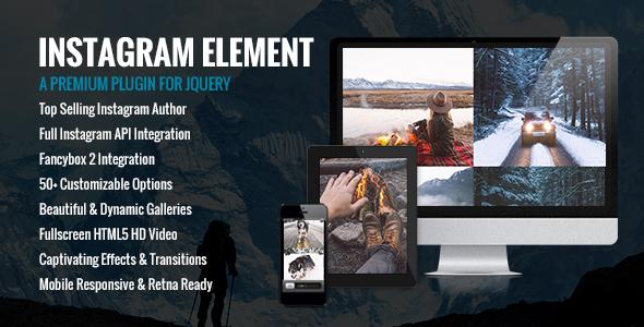 Instagram Element
