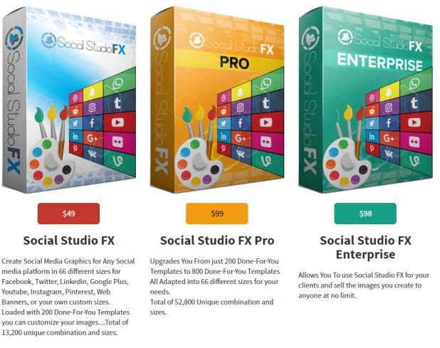 Social Studio FX Funnel