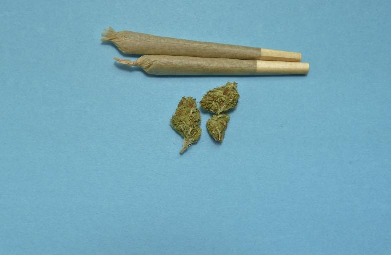 rolled weed
