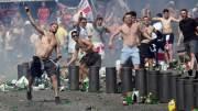La vergüenza del fútbol violencia eurocopa