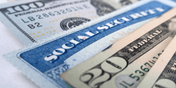 """social security card and cash, symbolizing """"Feel Like a (Half)Million Bucks. Read This."""""""