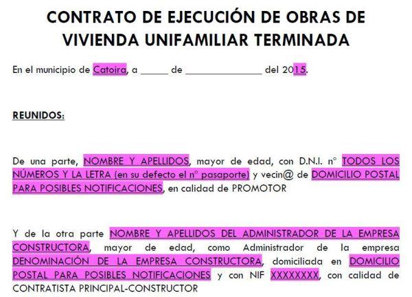contrato de obra 1