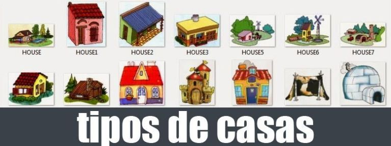 tipos de casas