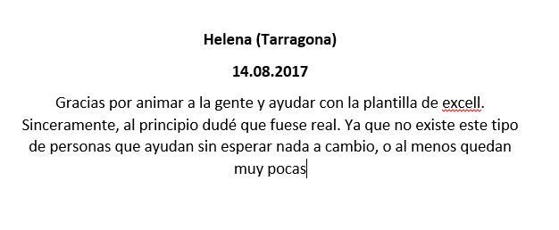 testimonio helena tarragona