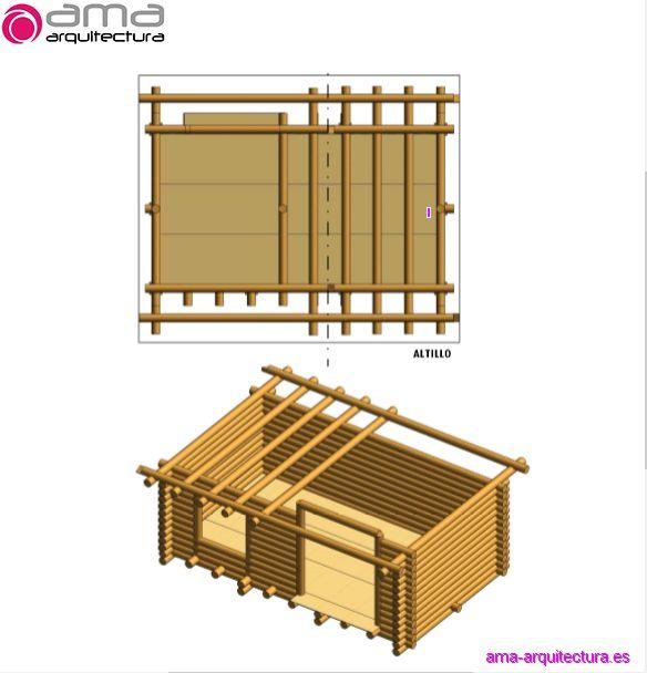 cabaña de madera 1