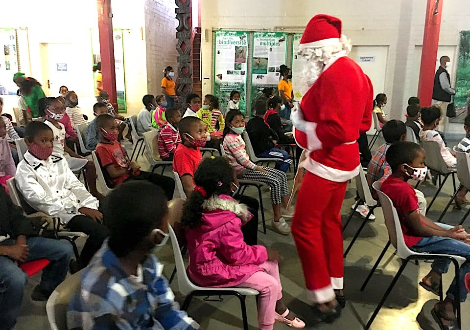 Fête de Noël en avance pour les écoliers d'Antoby