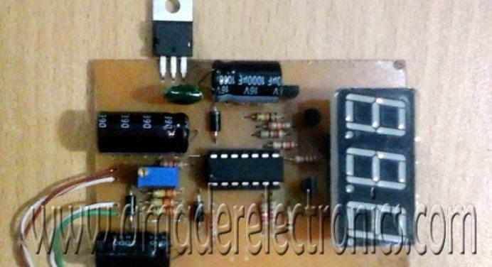 ডিজিটাল এসি ভোল্ট মিটার (0-400 VAC)