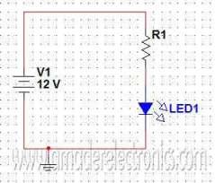 উদাহরণ - LED সার্কিট
