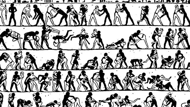প্রাচীন কালে হাতে আঁকা এনিমেশন স্ট্রিপ