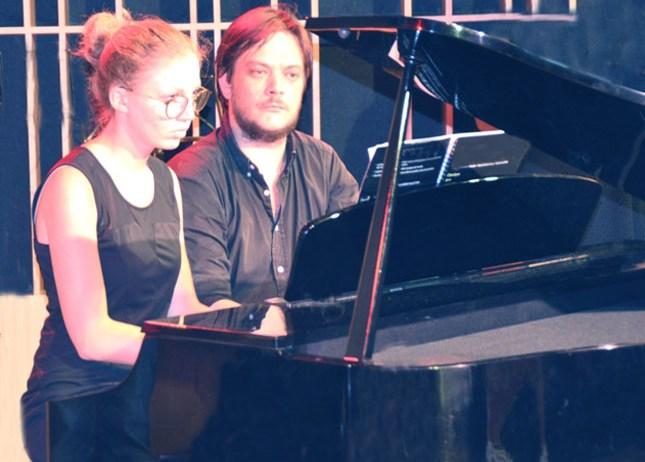 Cours de piano avec Hugo