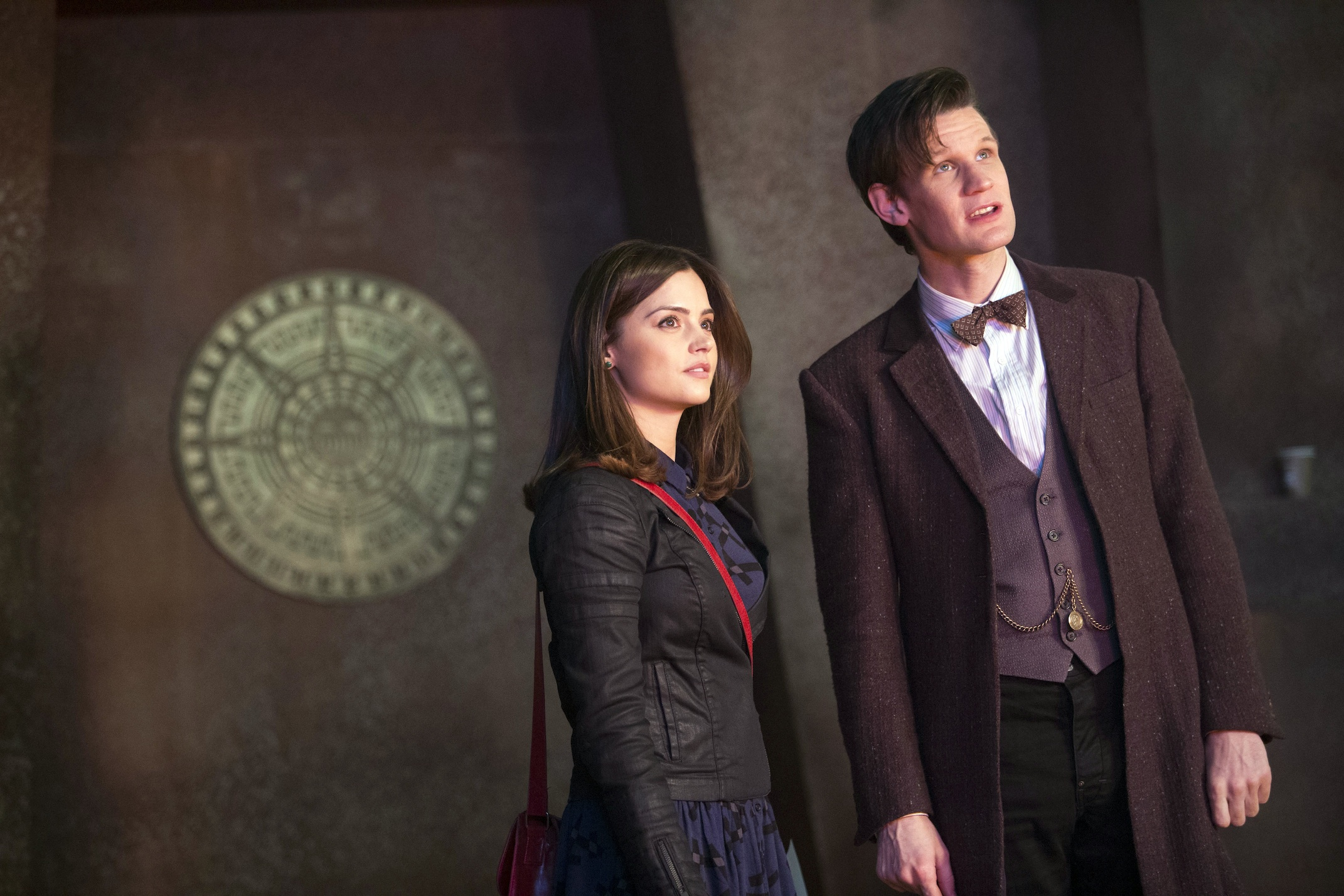 Along with posters and synopses, BBC America has released interviews with Steven Moffat, Matt Smith and Jenna-Louise Coleman.