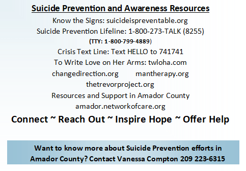 Suicide Prevention Postcards