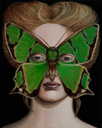 2007 Series: Moth Masks by Deborah Klein