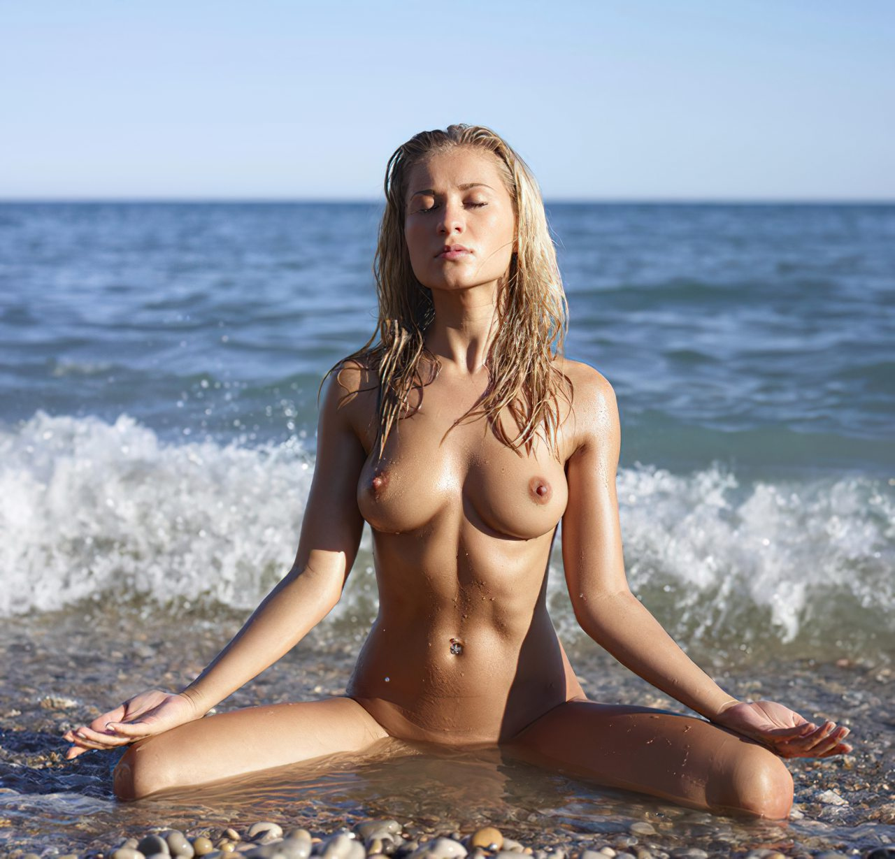 Banho na Praia (1)