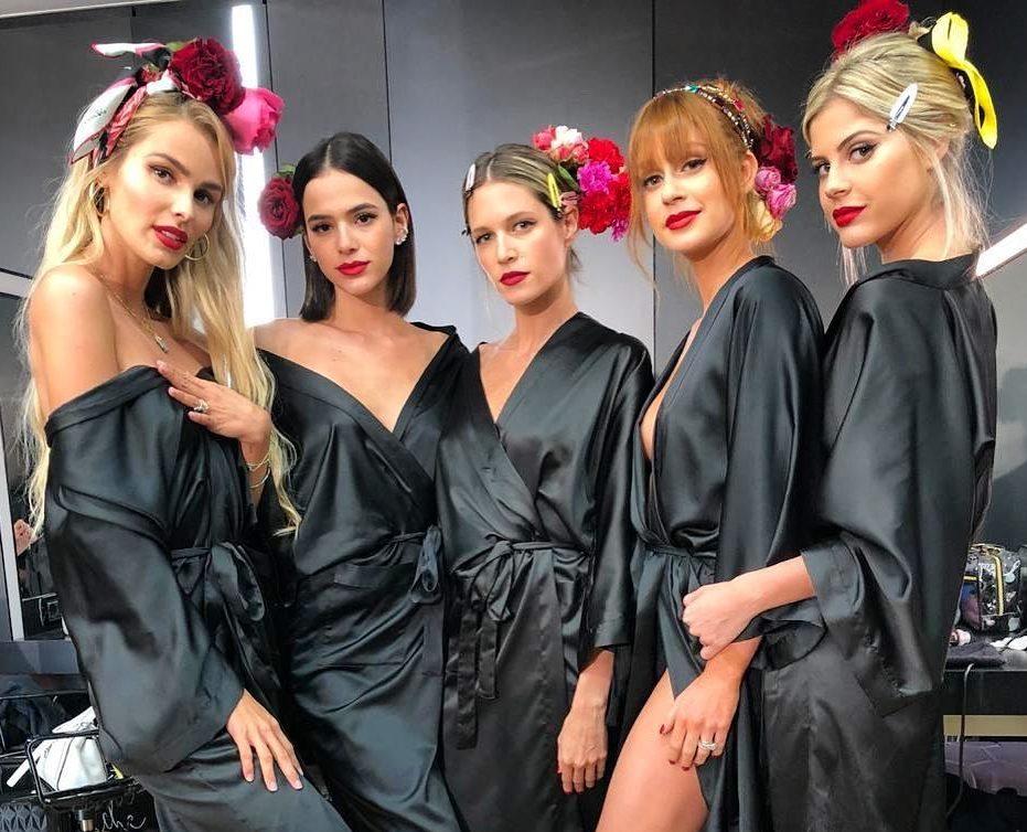 68384e2dcdcf3 Brasileiras marcam presença na passarela da Dolce   Gabbana – A Mais  Influente