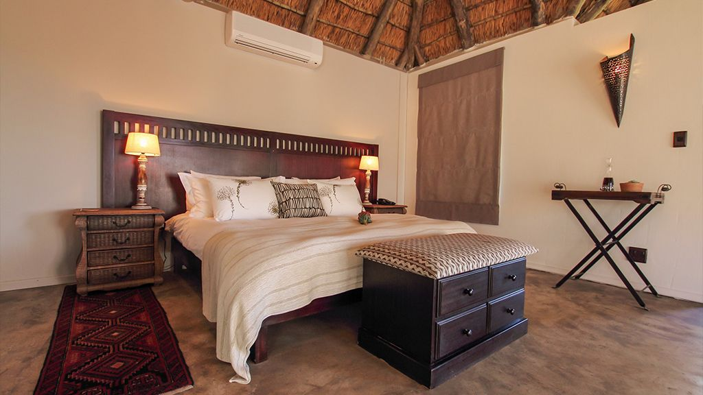 Bukela Game Lodge Bedroom