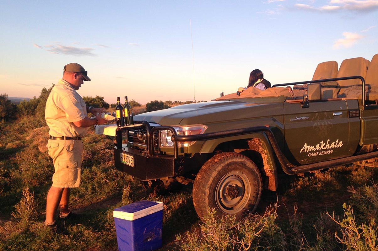 Amakhala Leeuwenbosch Country House Activities Sundowners Day Safari