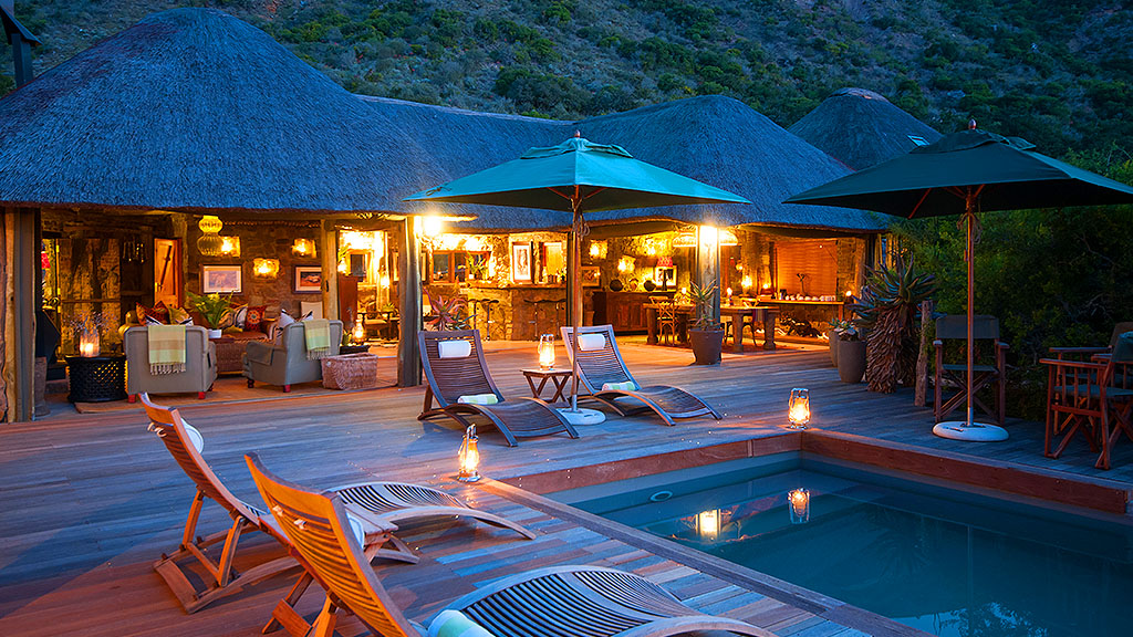 Amakhala Game Reserve Main Lodge Exterior