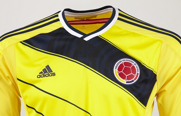 maglia della Colombia per Brasile 2014 adidas