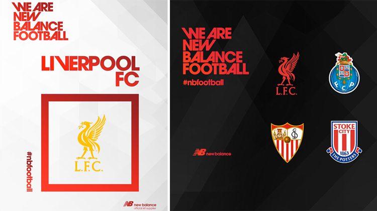 Liverpool e New Balance, nuovo sponsor 2015-16