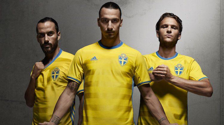 Maglia Svezia Euro 2016