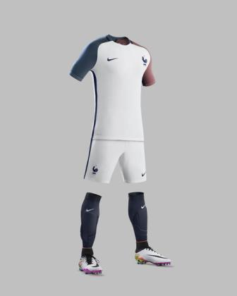 Francia, maglia bianca 2016 (2)