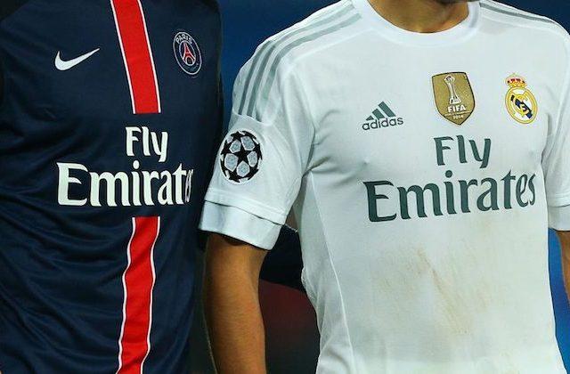 sponsor sulle maglie da calcio