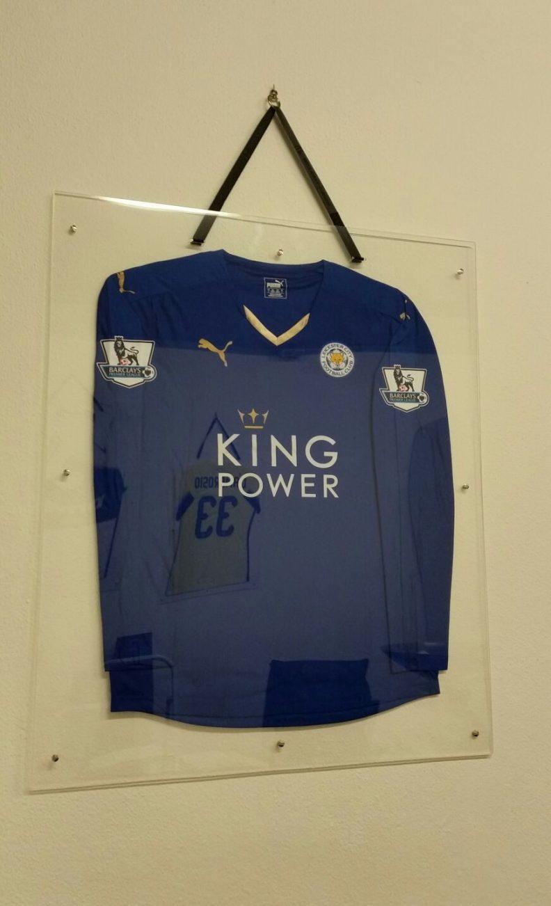 cornice maglia Leicester City