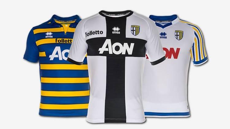 parma calcio maglia 2016-2017