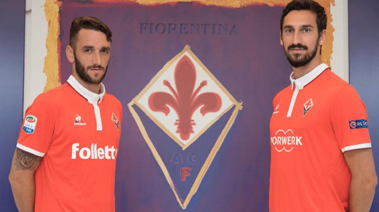 fiorentina terza maglia 2016-2017 rossa