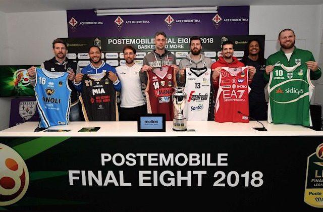 squadre e maglie basket final eight 2018