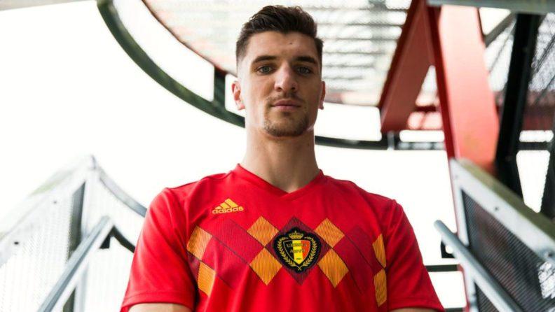 Kit home Belgio 2018 di adidas