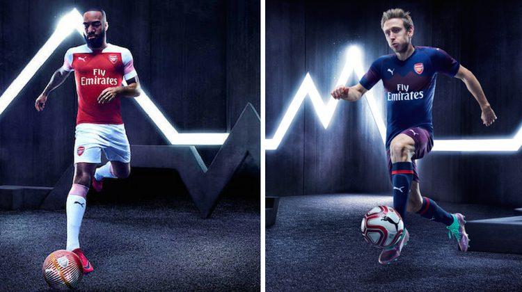 Arsenal home away kit 2018 2019