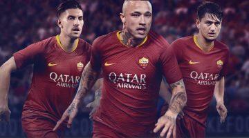 Roma home kit 2018-2019